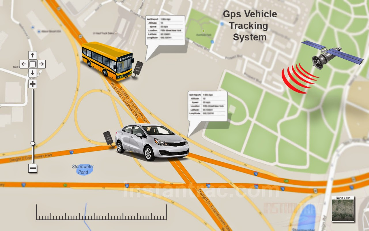 onboard map based tracking system - HD1280×800